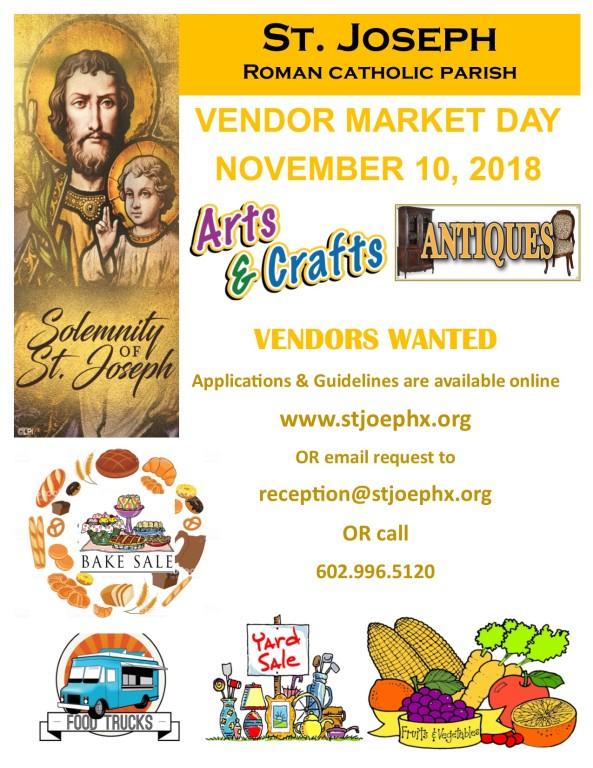 Vendor Market Day