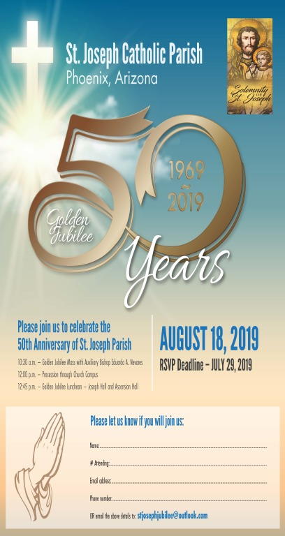 Golden Jubilee Invite