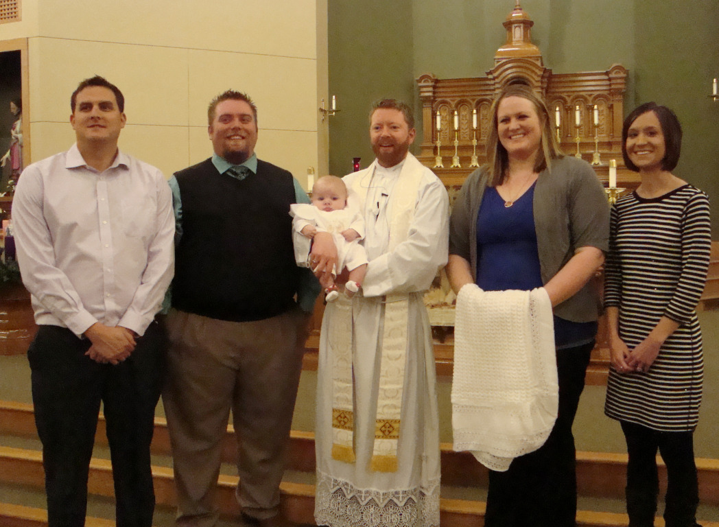 Baptism at St. George
