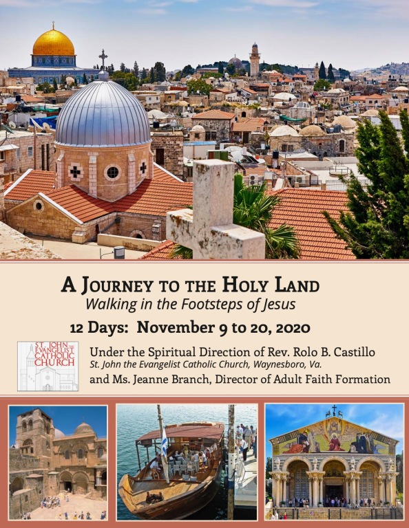 Holy Land Pilgrimage 2020