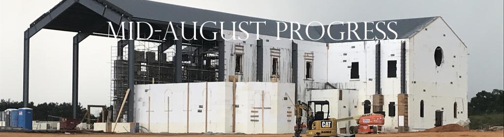 Mid August Progress