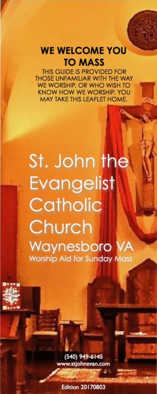 Worship Aid for Sunday Mass