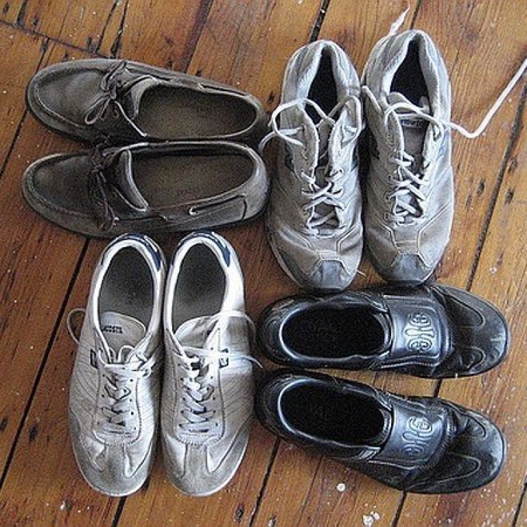 shoes recycling