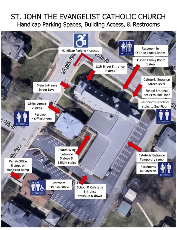 St. John Campus Map
