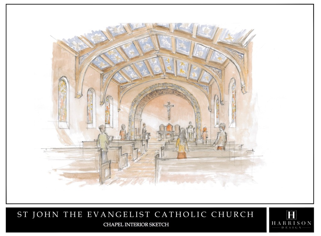 Artist's Concept of Chapel Interior