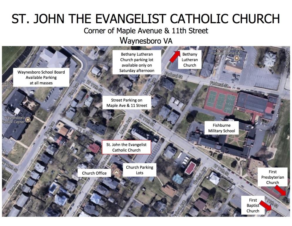 St. John -- Waynesboro Map