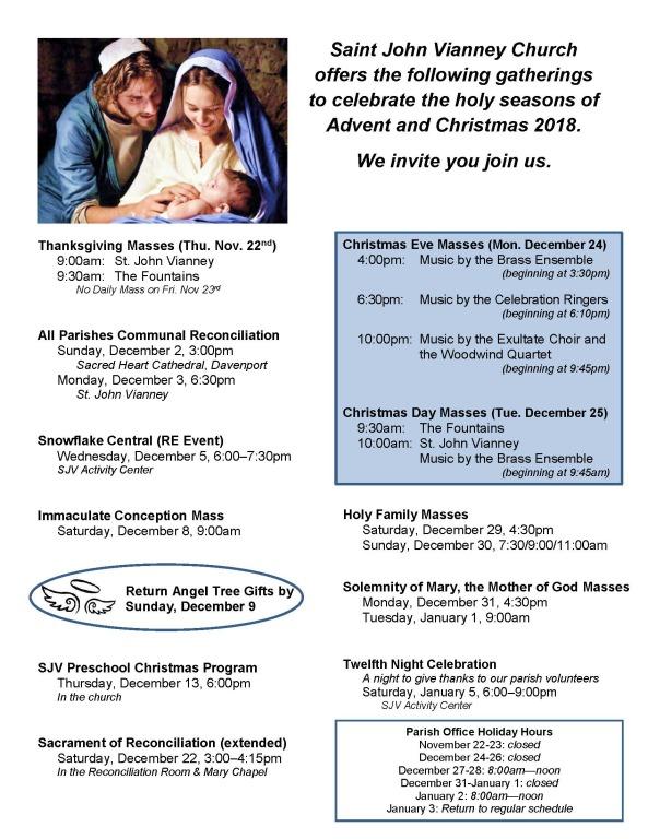 Christmas Calendar 2018