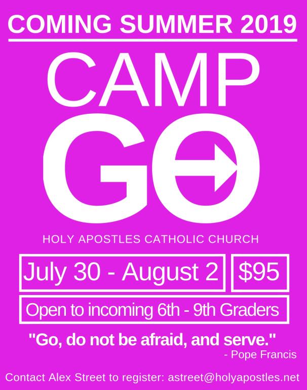 Camp Go 2019