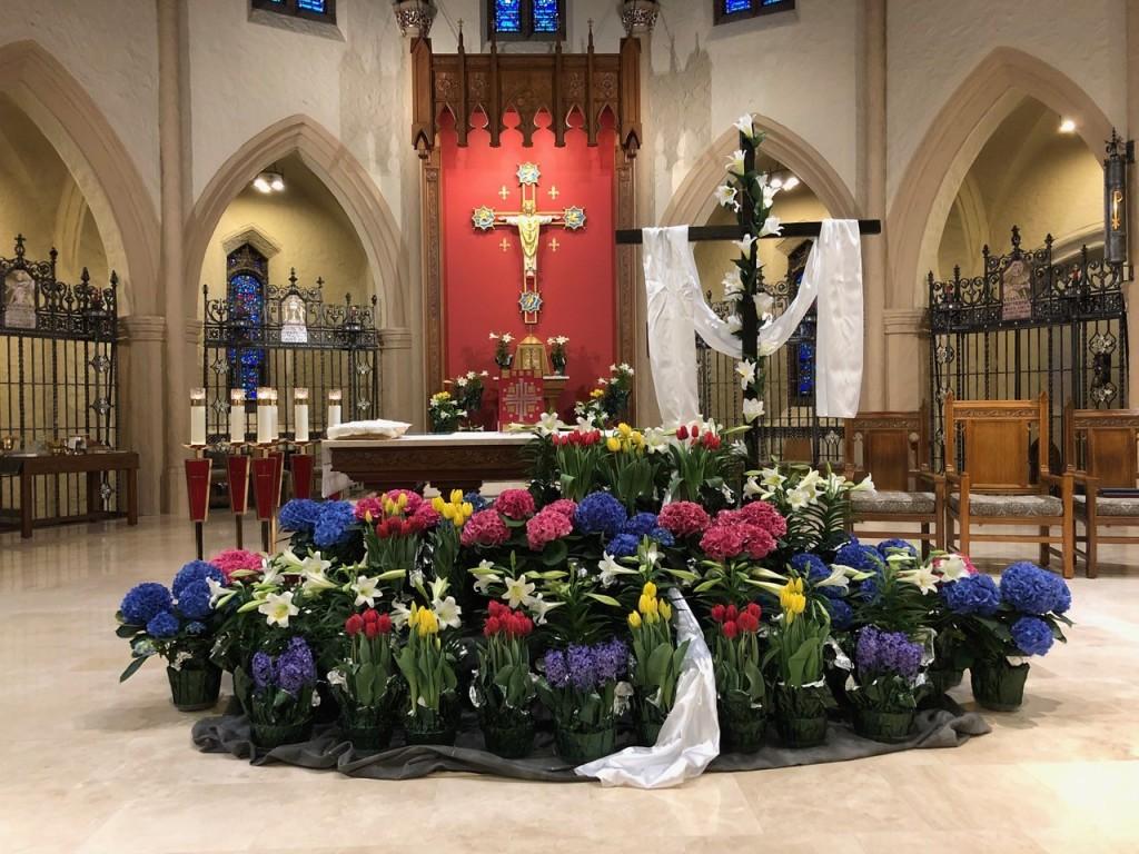 St. Joseph's at Easter