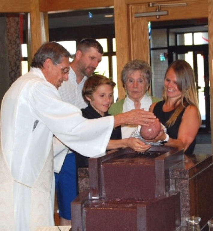 Sacrament of Baptism photo
