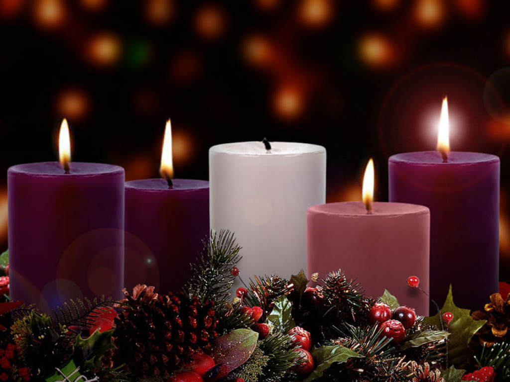 Advent Wreath for the 4th Sunday