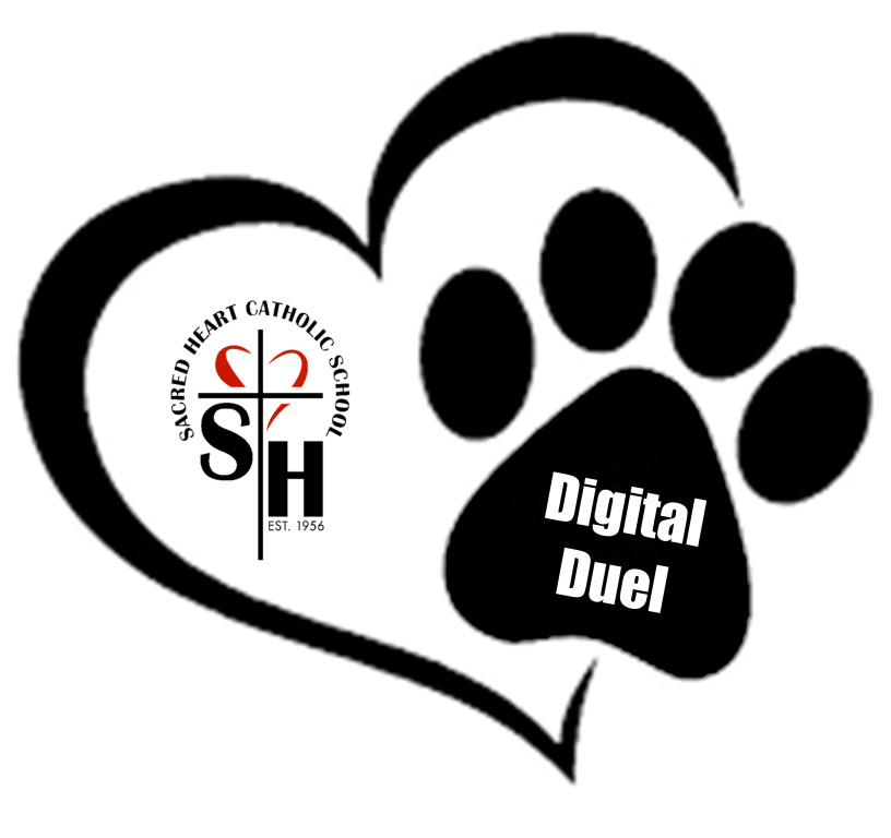 Sacred Heart Catholic School invites you to join in our Digital Duel Support a side in the Sacred Heart Catholic School invites you to join in our Digital Duel fundraising battle