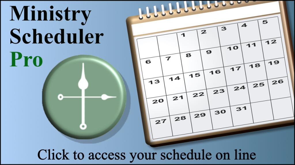 Ministry Scheduler Pro