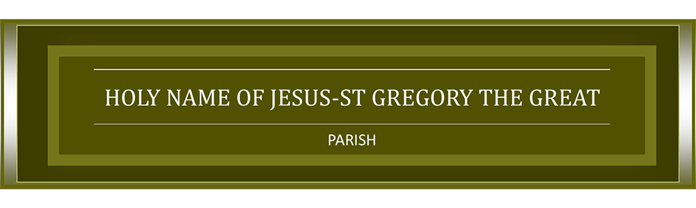 Holy Name of Jesus - Saint Gregory the Great Parish