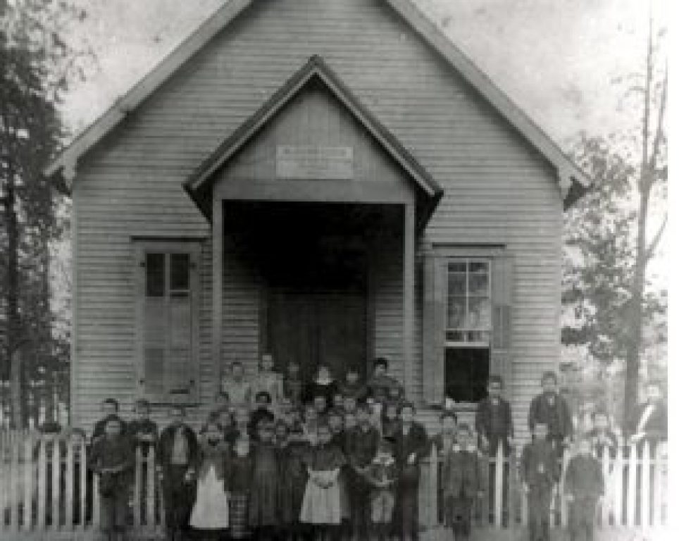The first school and sisters home