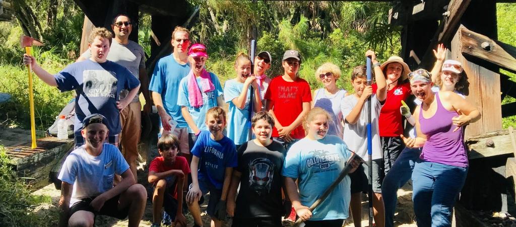 Oscar Scherer State Park Cleanup