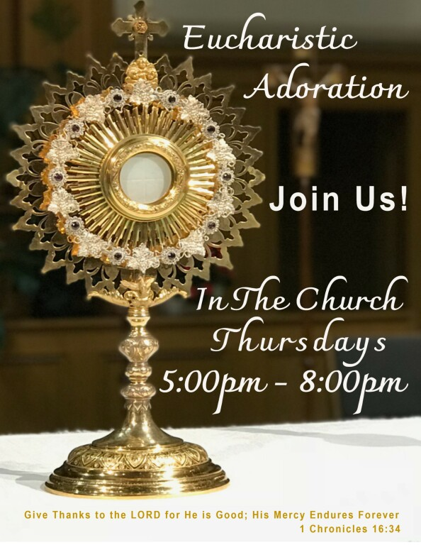 Join Us for Adoration