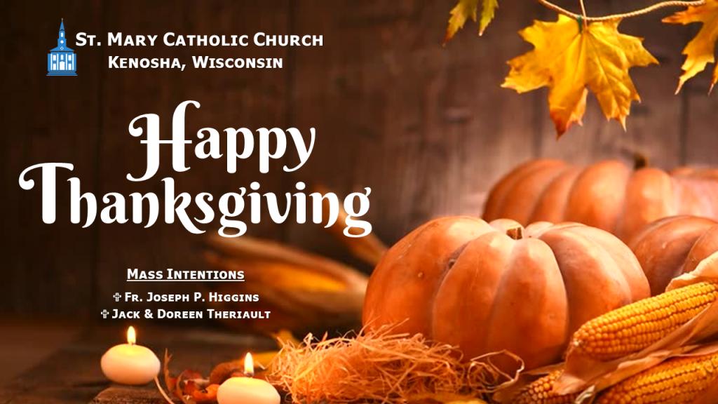 Thanksgiving 2020 Mass