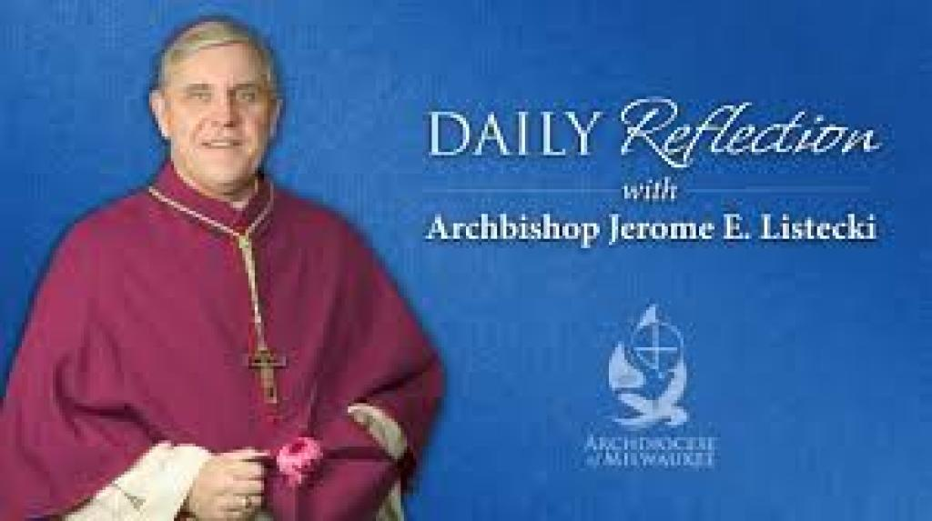 Archbishop Daily Reflection