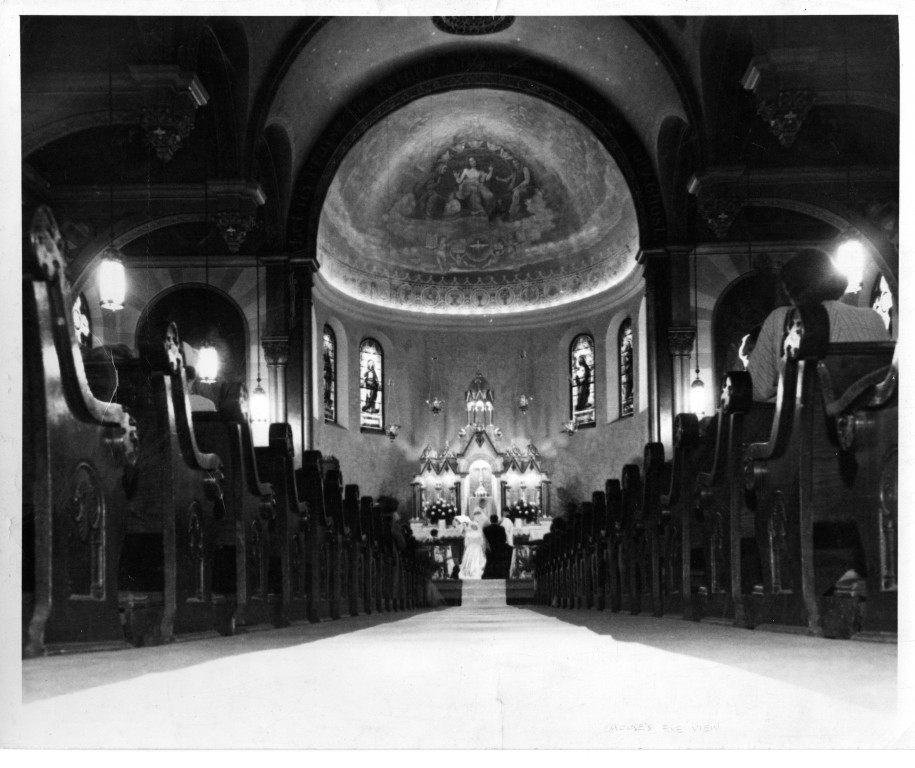 Marriage at Holy Name Cathedral