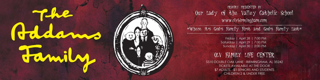 Addams Family banner