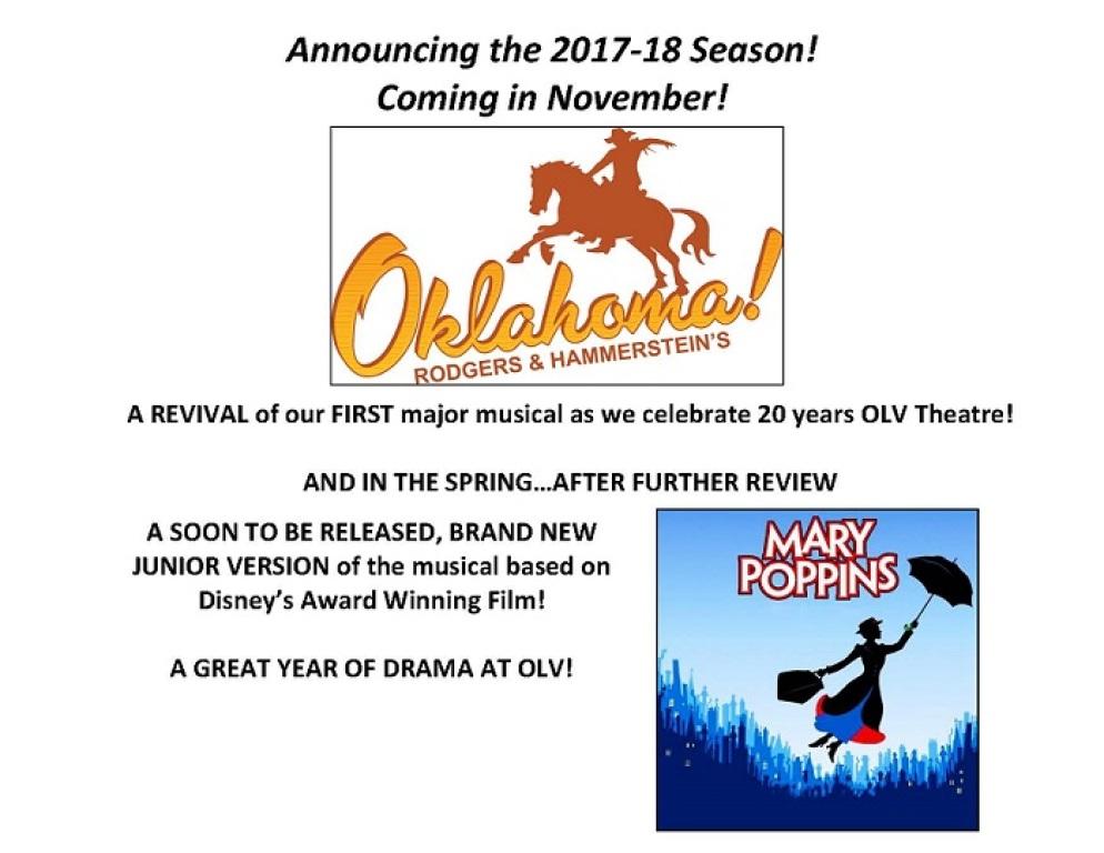 Drama shows 2017-18