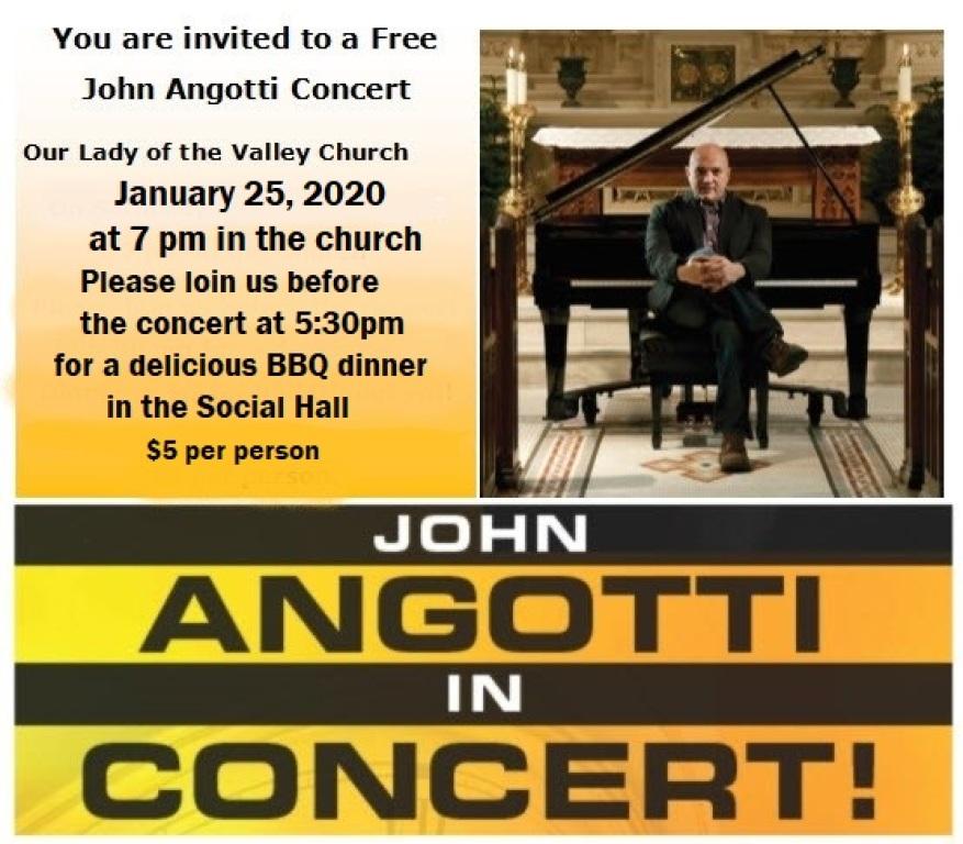 John Angotti Concert