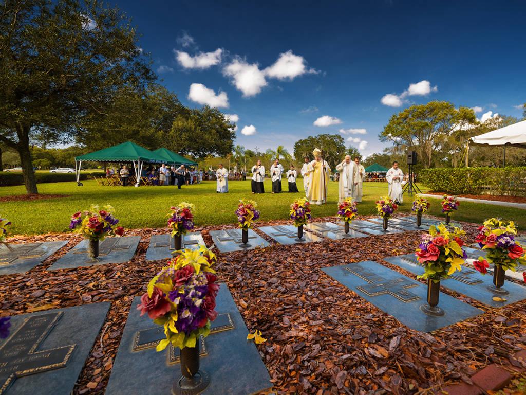 Calvary Cemetery Graveside Service