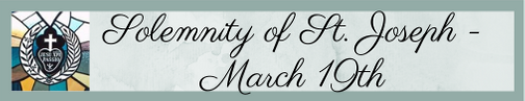 Solemnity of St. Joseph