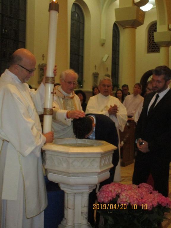 Sael Baptism