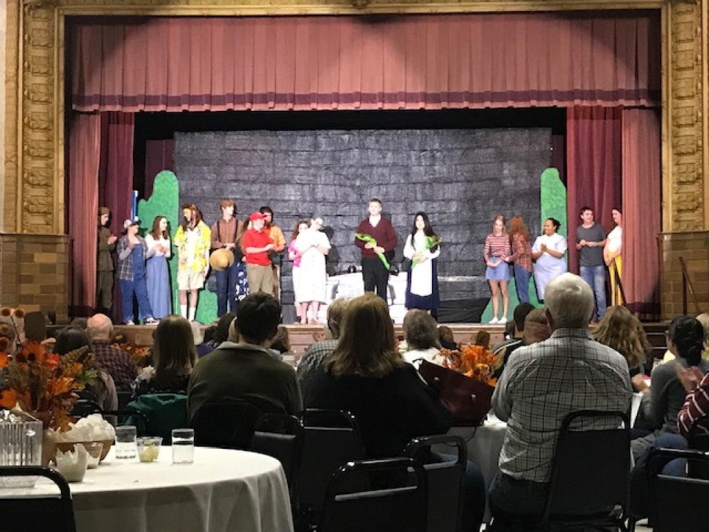 Thank you members of our youth group that participated in the Holy Trinity play!