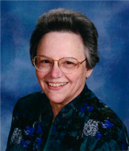 Photo of Sr. Peggy Duffy, SSND