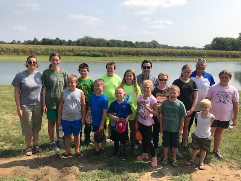 Thank you everyone who participated in our youth group fishing trip!