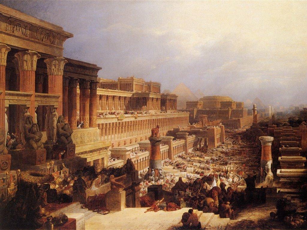 Israelites Leaving Egypt