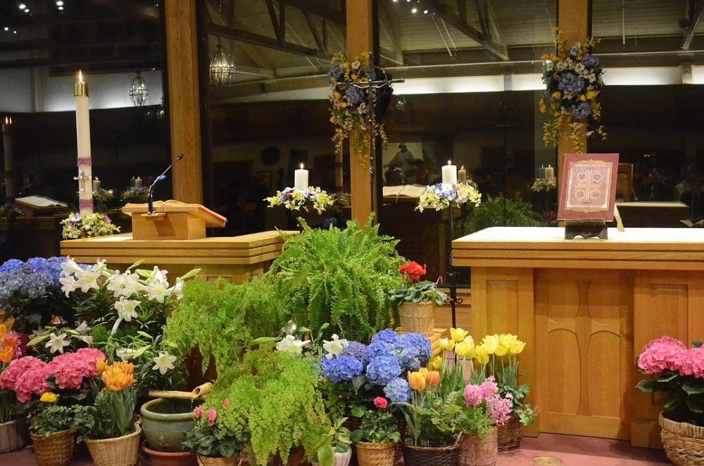 St Elizabeth Seton Altar