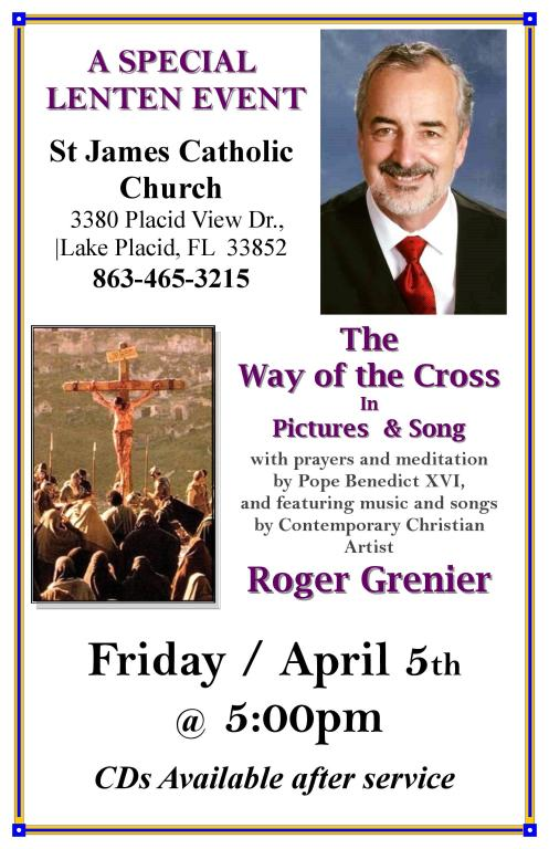 Way of the Cross April 5th
