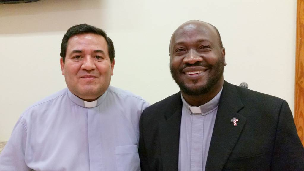 Fr. Anthonio Jean and Fr. Victor Caviedes