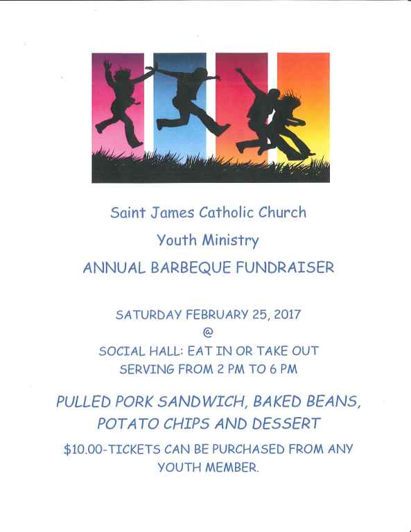 youth group bbq fundraiser