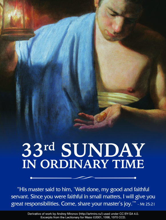 33rd Sunday of Ordinary Time