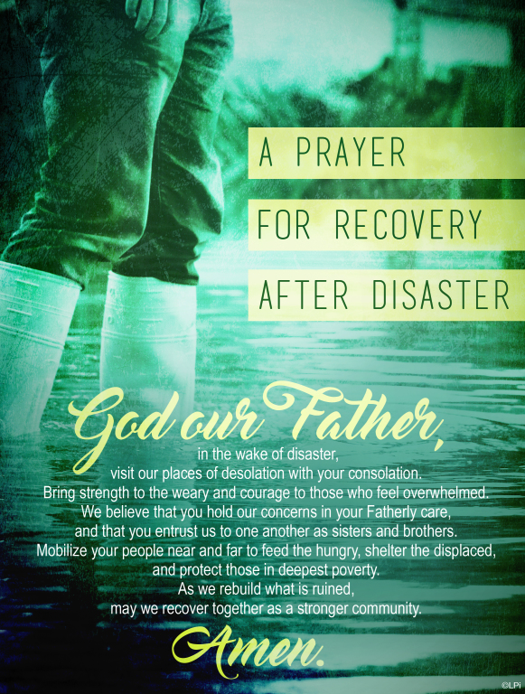 Prayer after disasters