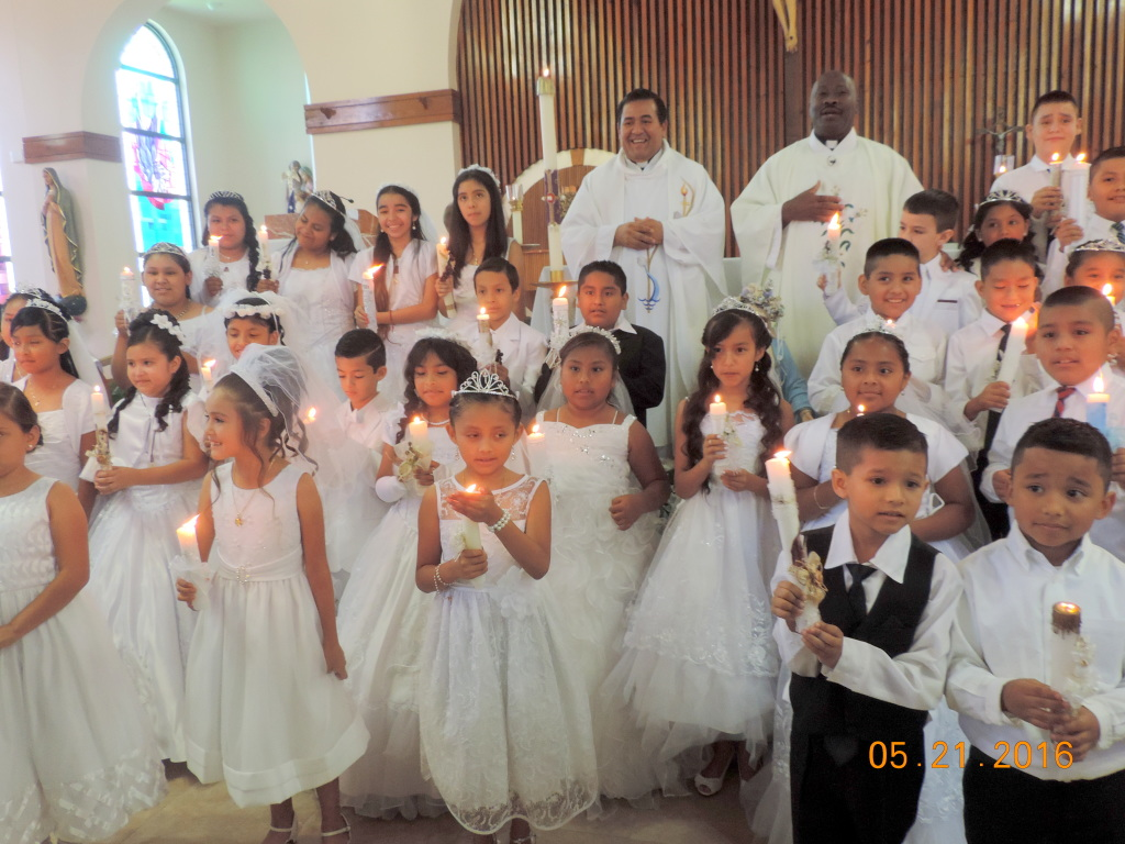 1st Communion at St. James