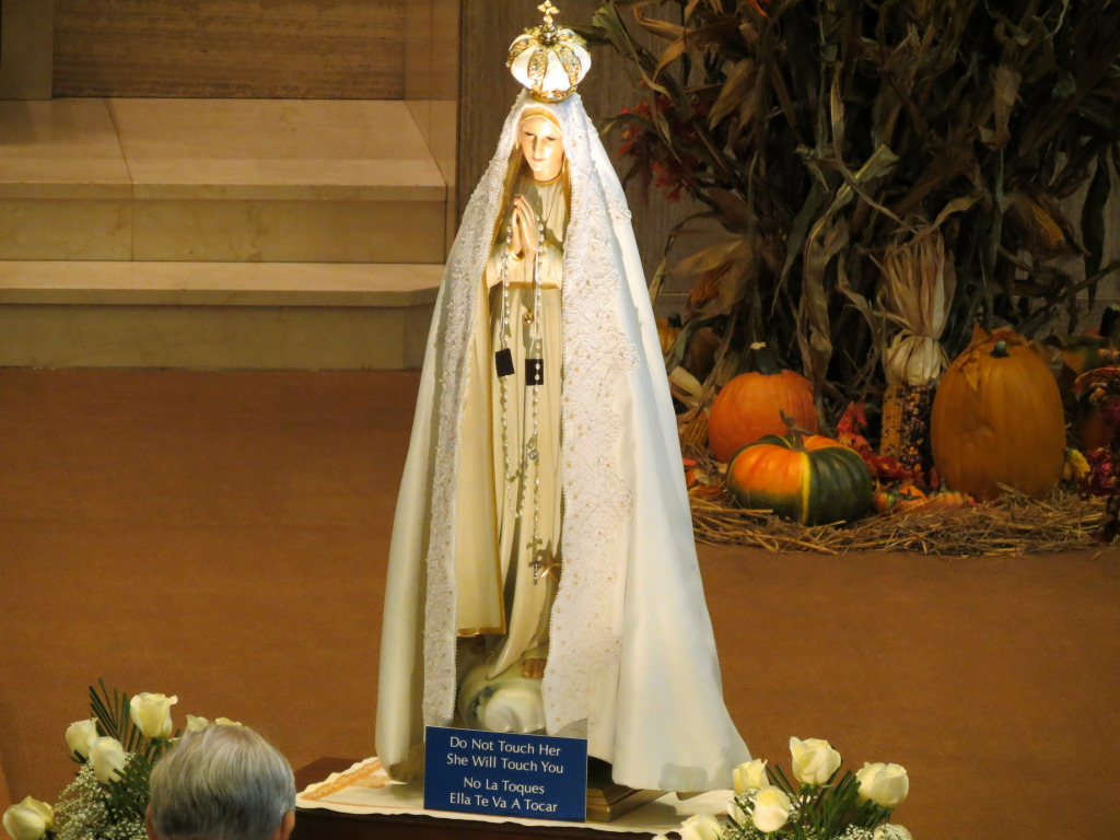 International Pilgrim Statue Of Our Lady Of Fatima Feast Of All