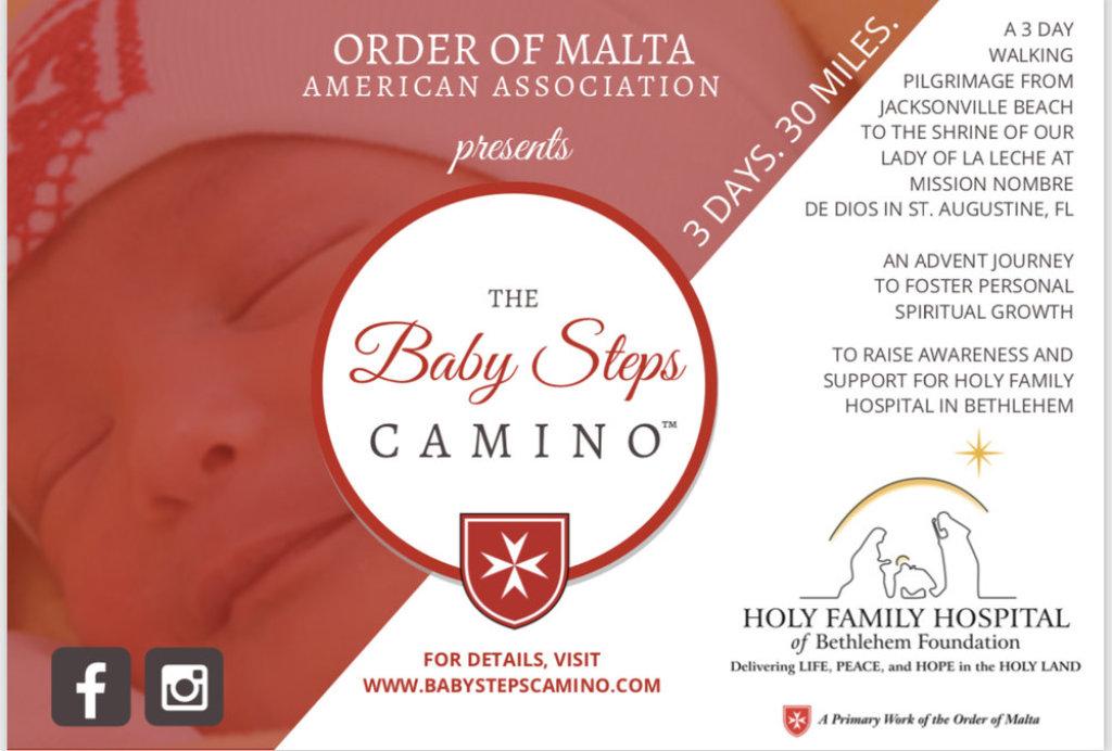 Baby steps camino flyer
