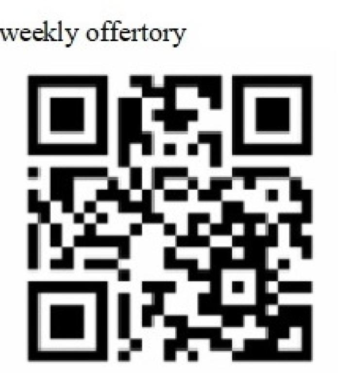 weekly offertory