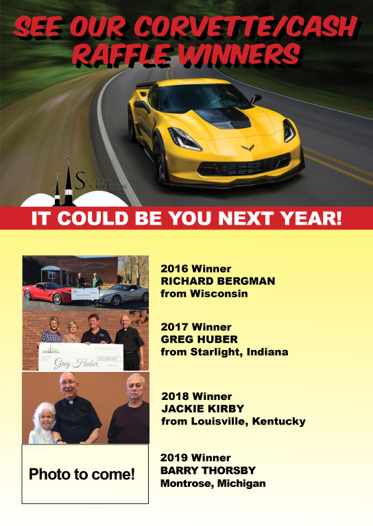 Corvette Winners | St  Mary of the Knobs