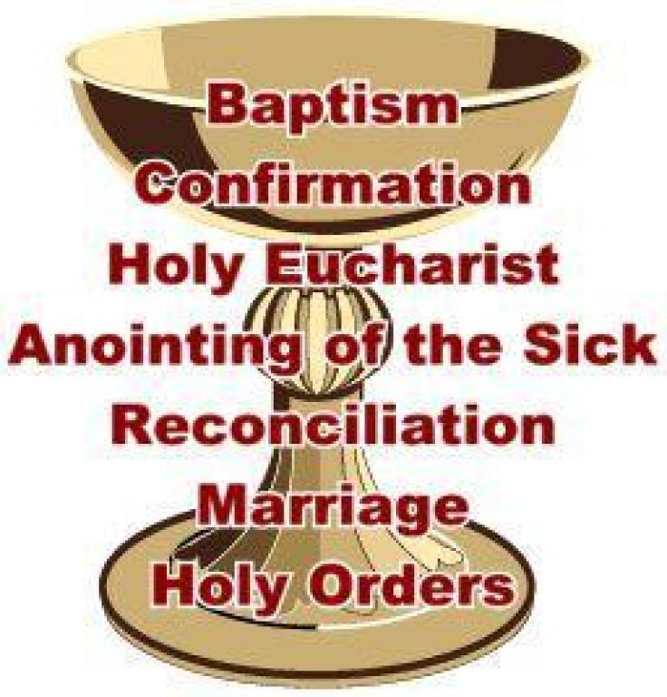 What Are The Sacraments Holy Family Roman Catholic Church