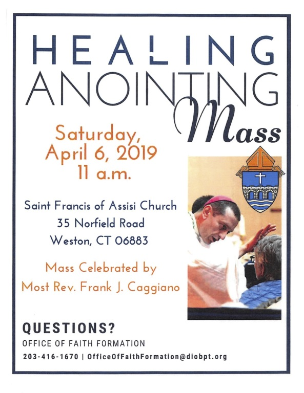 Healing Mass With Bishop Caggiano