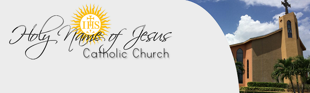 Funeral Readings | Holy Name of Jesus Catholic Church