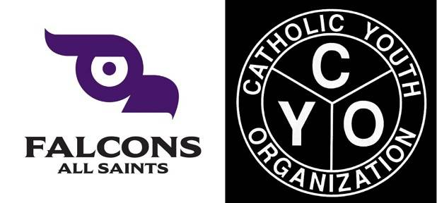 Falcons and CYO logos