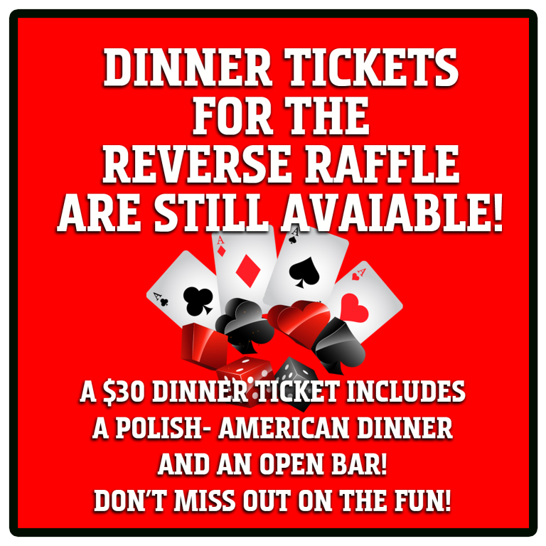 2019 RR Dinner ticket available